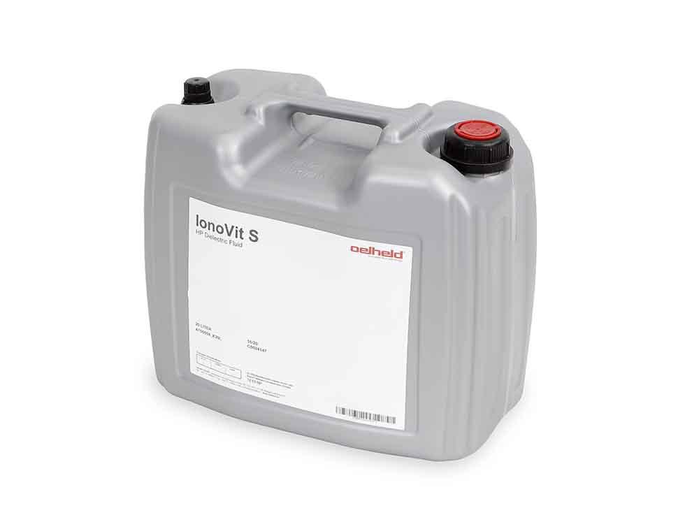 Tecnosystem suministra Aceites dieléctricos serie IonoVit Oelheld para electroerosión. Se agrega dieléctrico  combinado con un cartucho de resina mezclada que asegura calidad y mantiene la conductividad