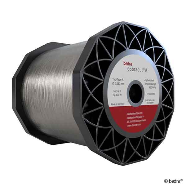 Hilo Cobracut® A zincado duro para las mayores exigencias de precisión reproducible y calidad superficial