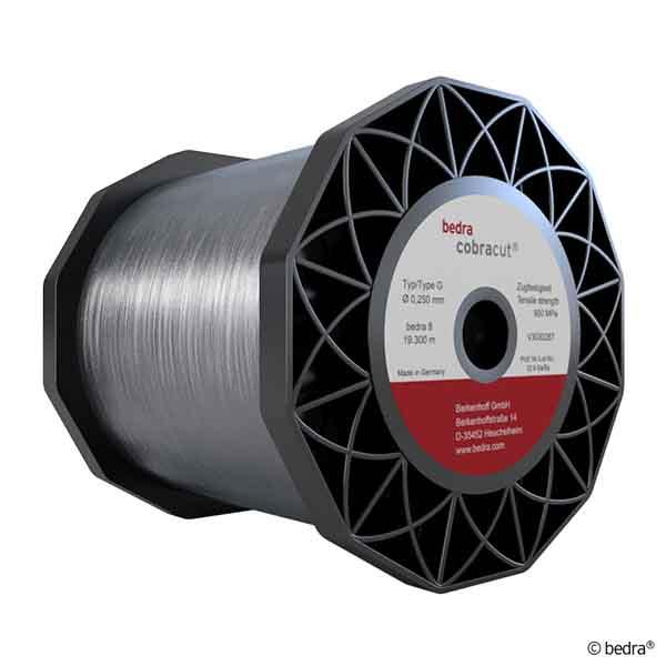Hilo Cobracut® G de exigente precisión, incluso para cortes de gran inclinación en máquinas AGIE con guía toroidal