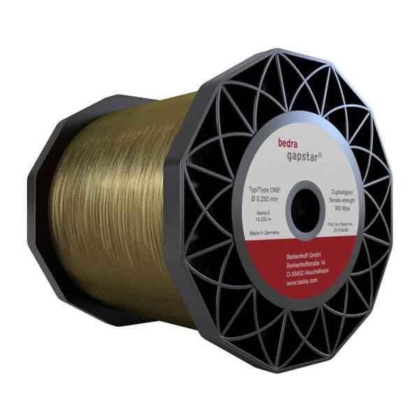 Tecnosystem suministra Hilos recubiertos Bedra Gapstar ONE para electroerosión y corte por hilo. Hilos de hilos de alto rendimiento con la tecnología TRIMPAC de Bedra