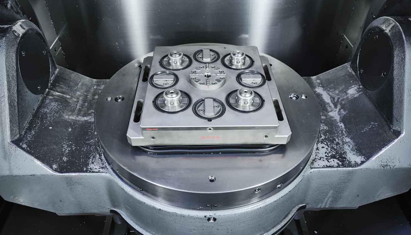 Tecnosystem suministra sistemas de sujeción y paletización Carl Hirschmann 8000, máxima precisión, rentabilidad y minimización del tiempo de preparación, compatible con EROBOT y los sistemas 4000 y 5000 de Carl Hirschmann